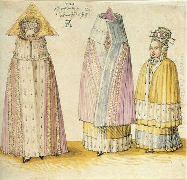 three mighty ladies from livonia 1521