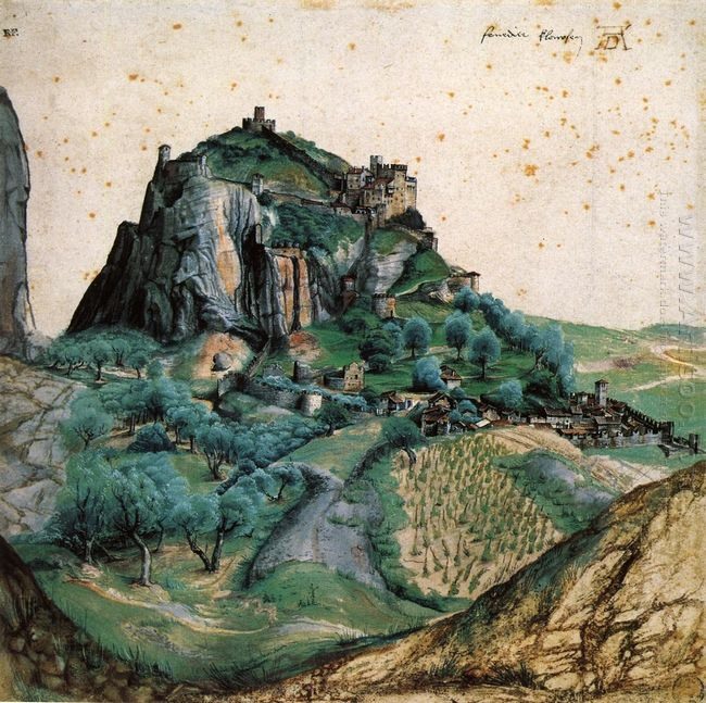 view of the arco valley in the tyrol 1495