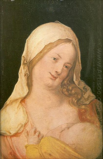 virgin suckling the child 1503