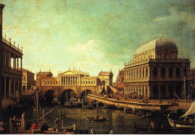 basilica di vecenza and the ponte de rialto