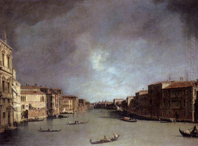 grand canal looking from palazzo balbi