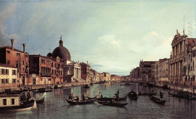 grand canal looking south west