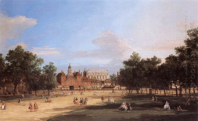 old horse guards and the banqueting hall whitehall from st james