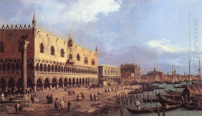 riva degli schiavoni looking east 1730 1
