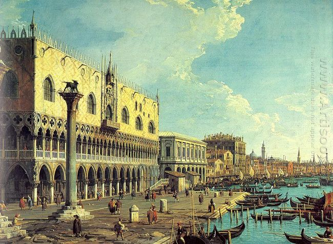 riva degli schiavoni looking east 1730