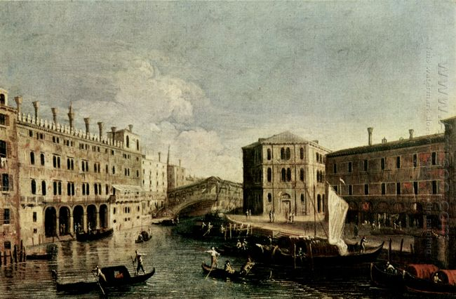the grand canal at rialto