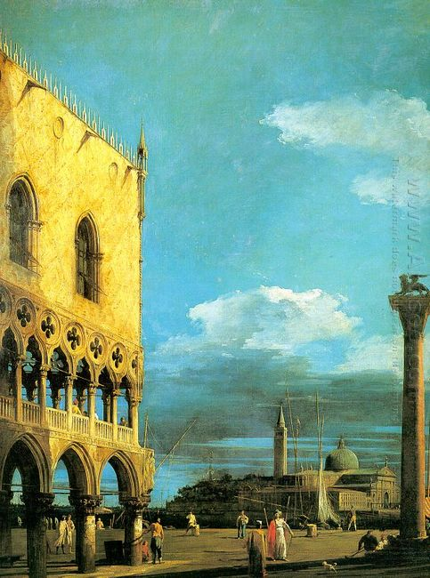 the piazzet looking south 1727