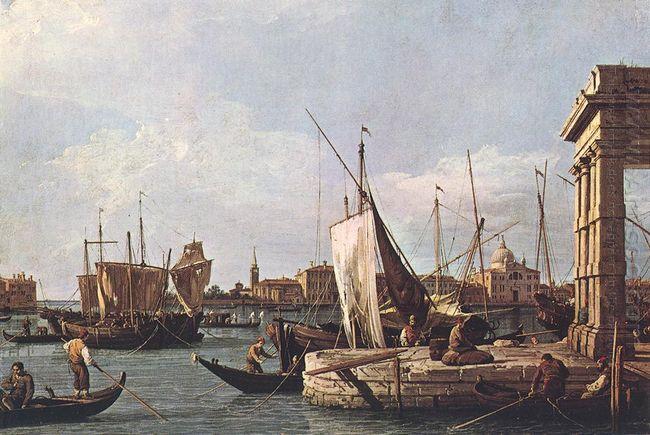 the punta della dogana 1730