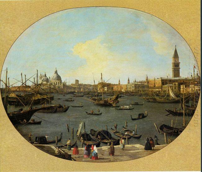 venice viewed from the san giorgio maggiore
