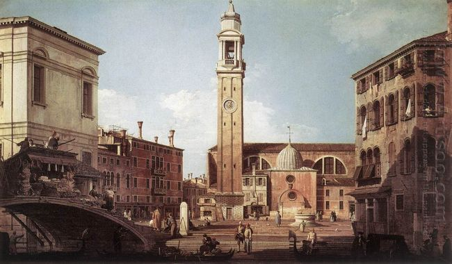 view of campo santi apostoli 1730