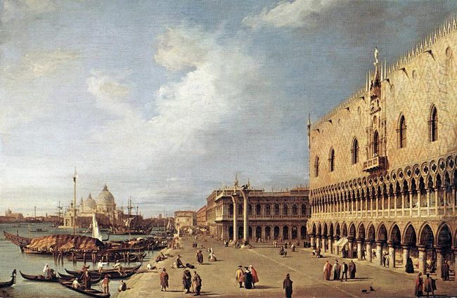view of the ducal palace 1730