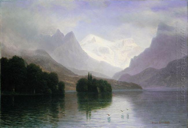 mountain scene 1880