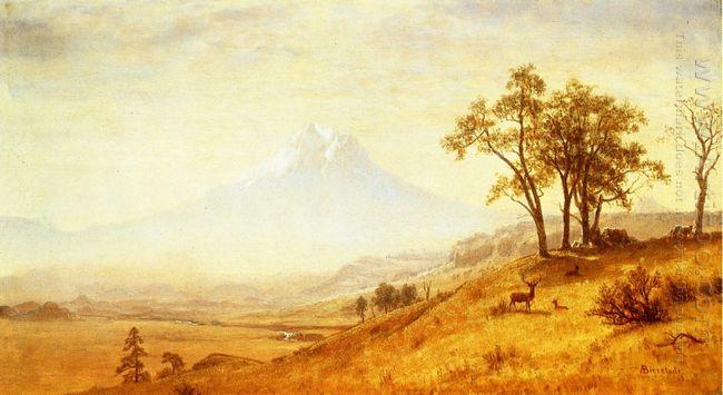 mount hood 1863