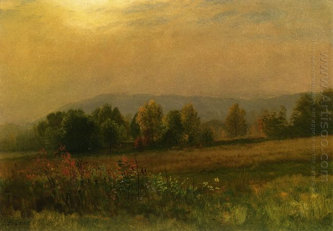 new england landscape 1889