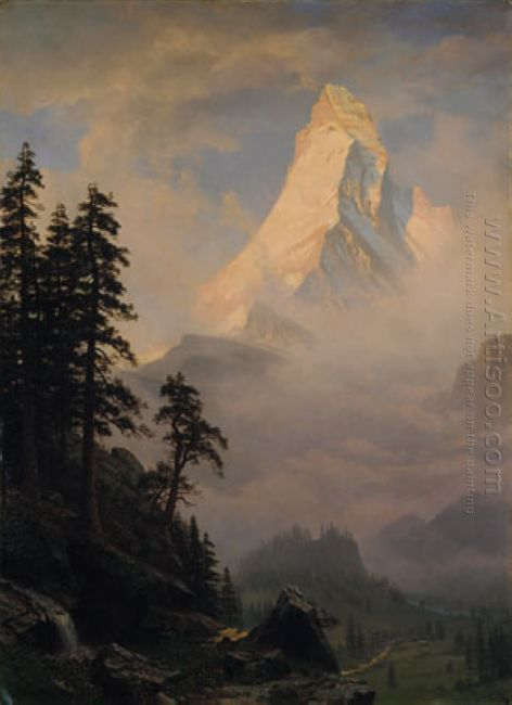 sunrise on the matterhorn 1875