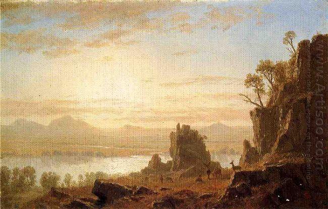 the columbia river oregon 1862