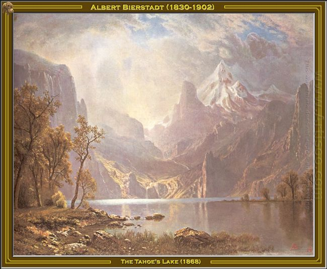 the tahoe s lake 1868
