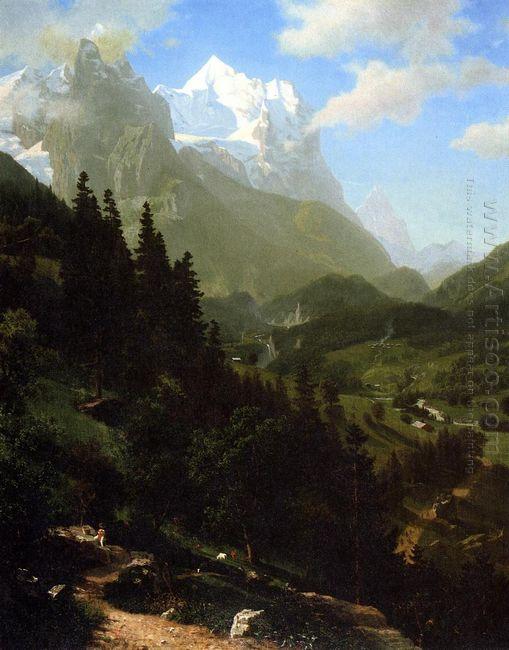 the wetterhorn 1857
