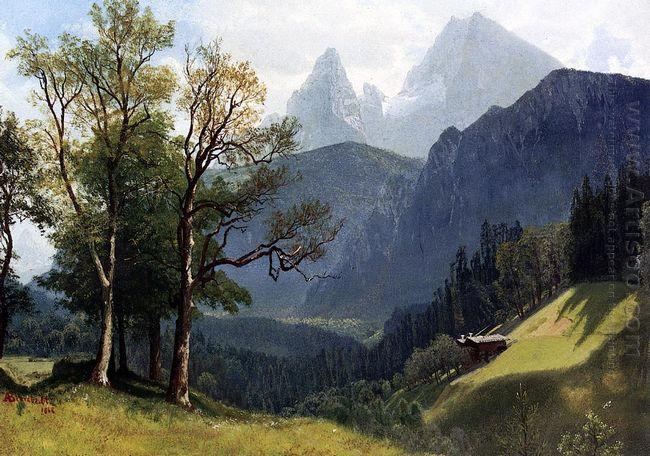 tyrolean landscape 1868