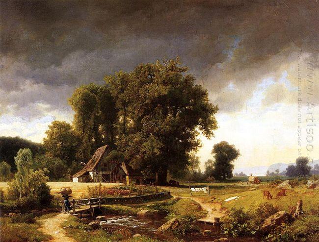 westphalian landscape 1855