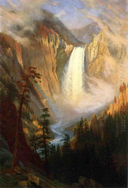 yellowstone falls 1881