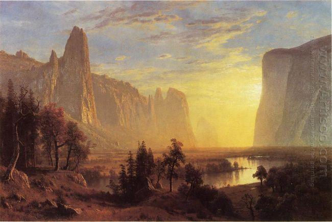 yosemite valley yellowstone park 1868