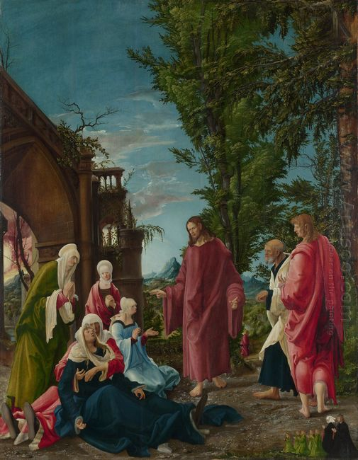 christ taking leave of his mother 1520