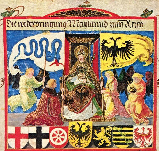 emperor maximilian triumphal 1515 1