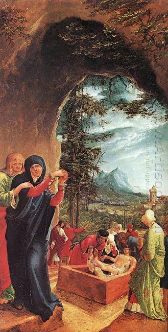 entombment of christ 1518