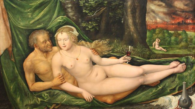 lot and his daughter 1537