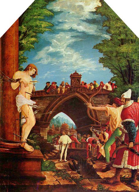 martyrdom of st sebastian 1516