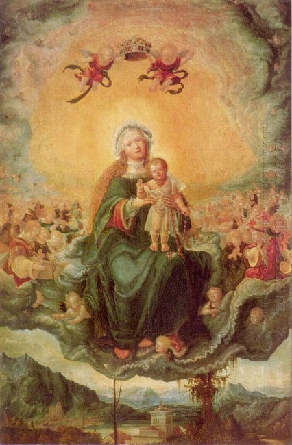 mary in glory 1526