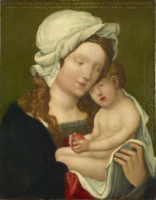 mary with child 1531