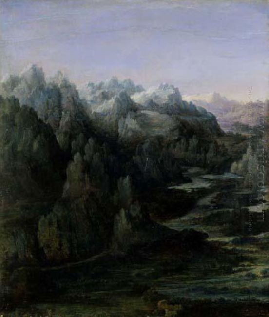 mountain range 1530
