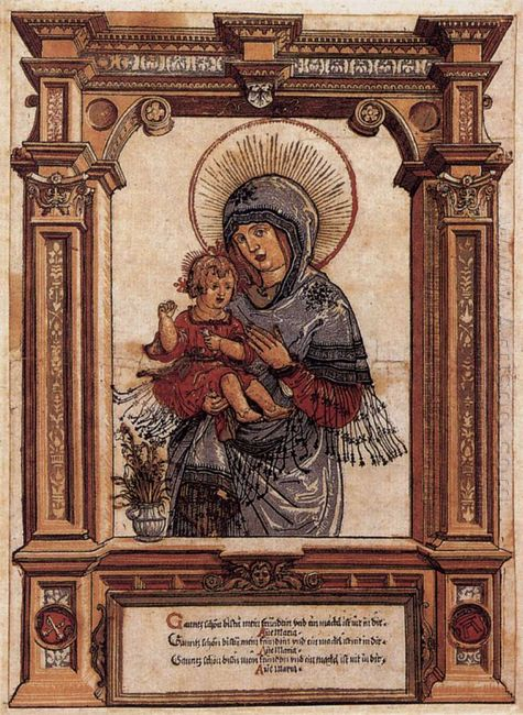 the beautiful virgin of regensburg 1520