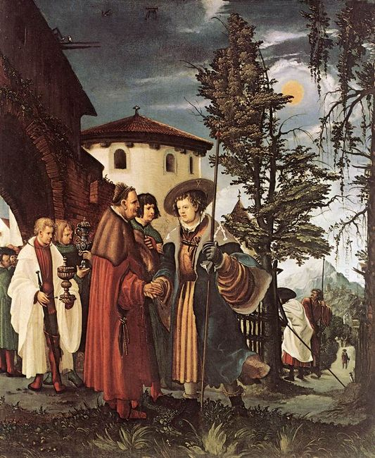 the departure of saint florain