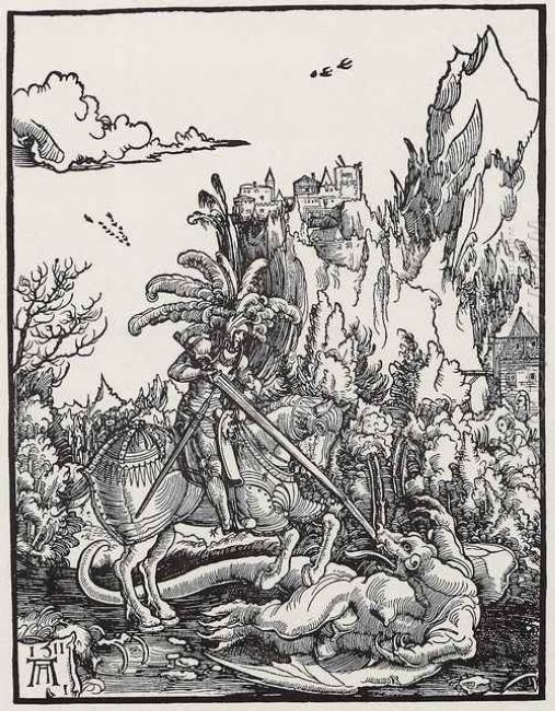 the st george killing the dragon art 1511