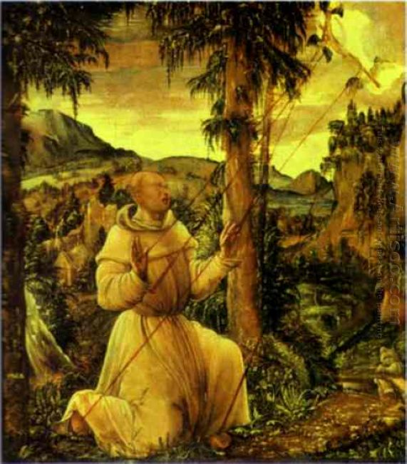 the stigmatization of st francis