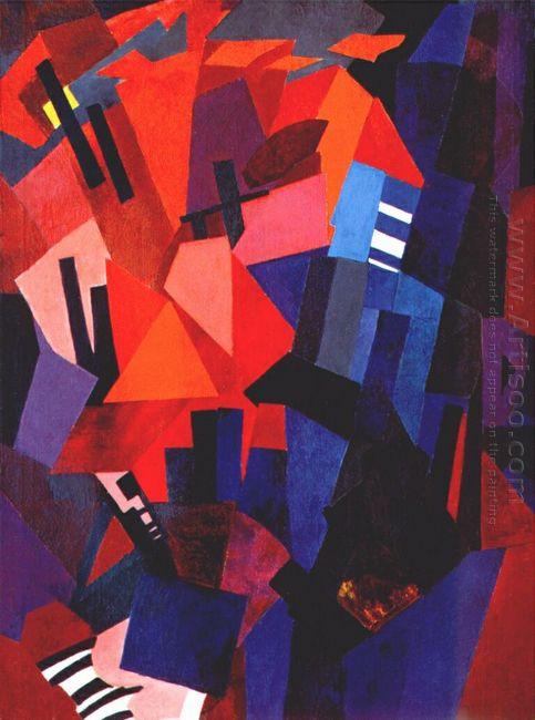 cityscape composition 1916
