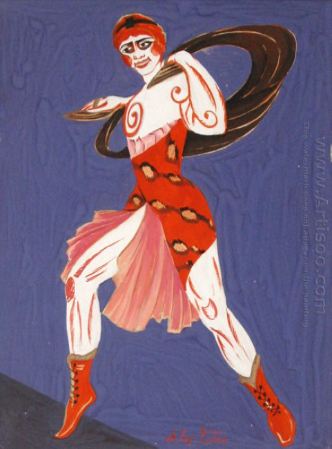 costume design for theatre moscow 1916