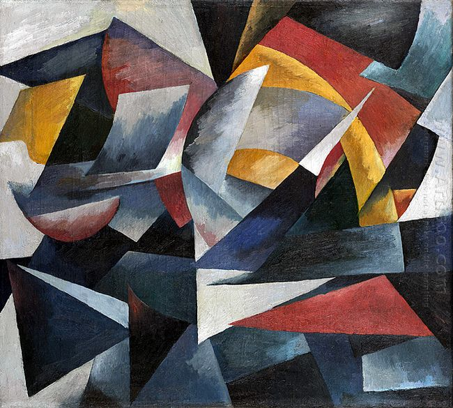 futuristic composition 1918