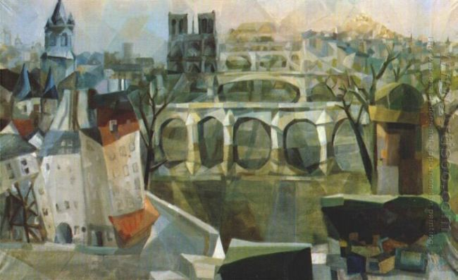 view of paris 1912