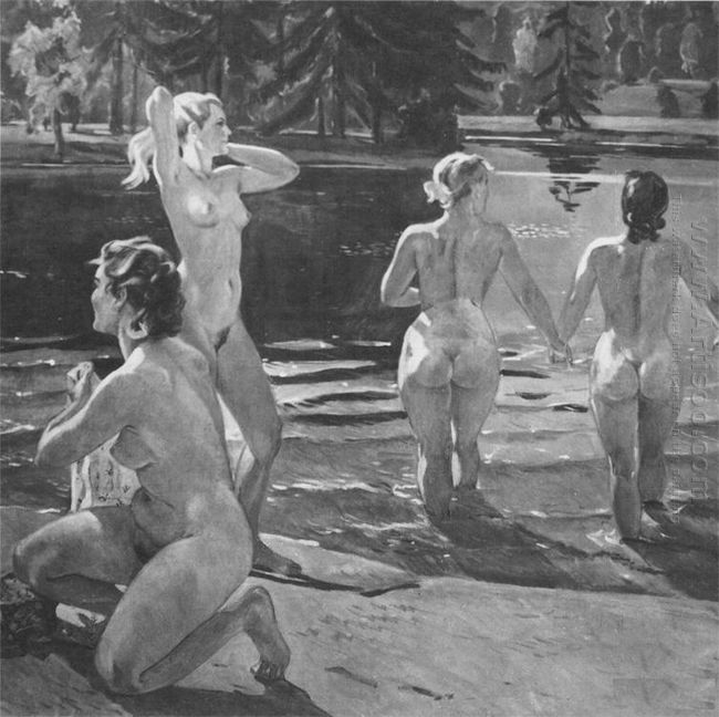 bathers 1952