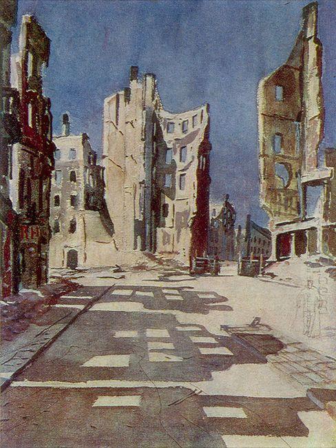 berlin destroyed buildings 1945