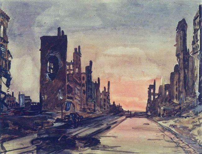 berlin frankfurter alley 1945