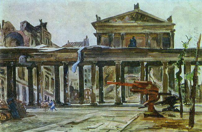 berlin friedrich museum 1945