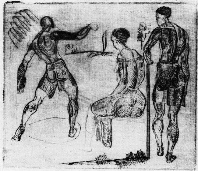 discus thrower 1922