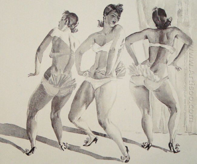 etradny dance burlesque 1935
