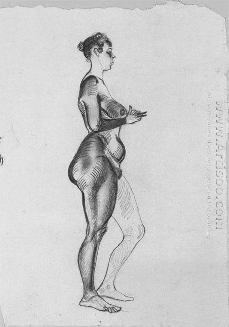 female figure 1921