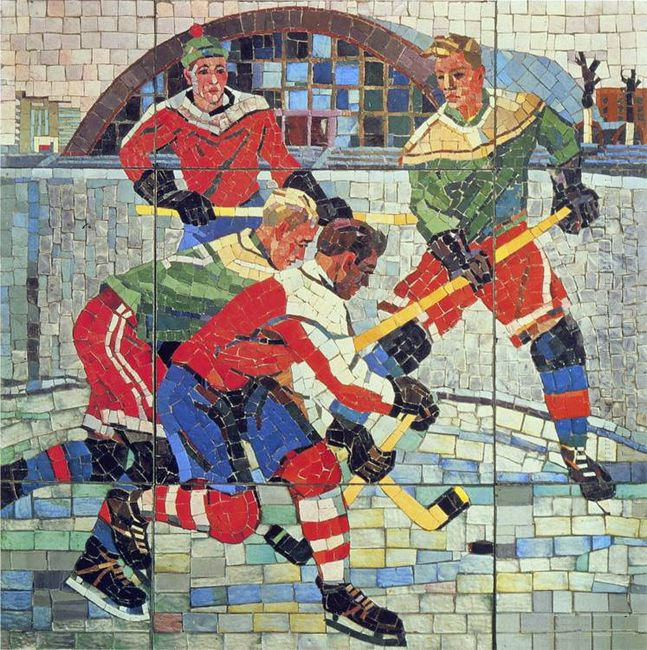 hockey players 1960